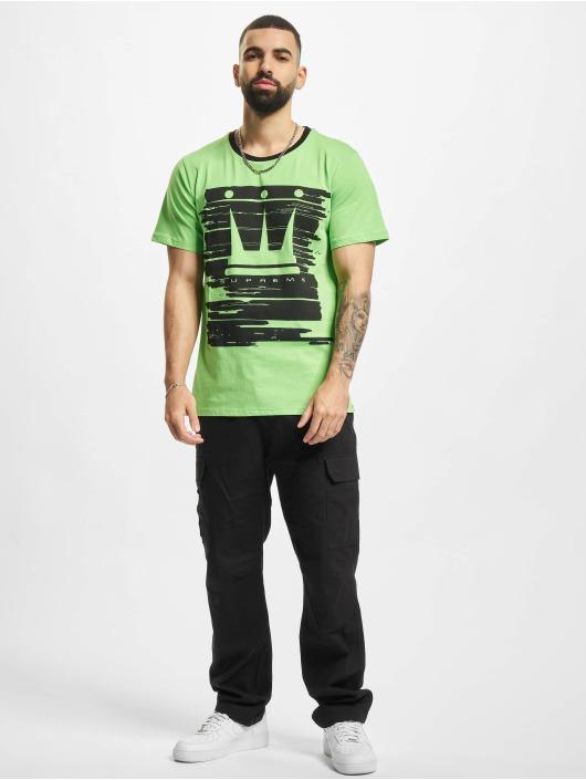 Dada Supreme T-Shirty Painted Crown zielony