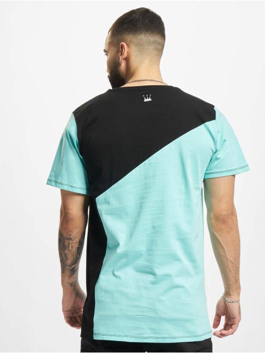 Dada Supreme T-skjorter Color Blocking Crown blå