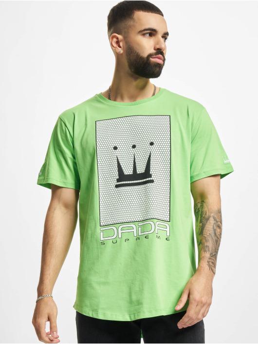 Dada Supreme T-skjorter Mesh Crown grøn