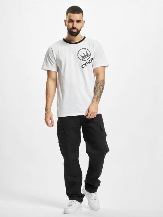 Dada Supreme T-skjorter Basic Circle Crown hvit