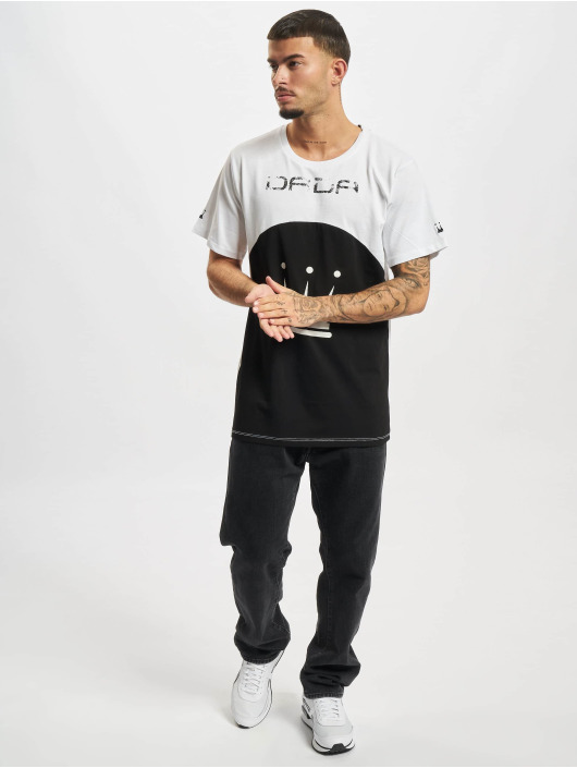 Dada Supreme T-skjorter Pipping hvit