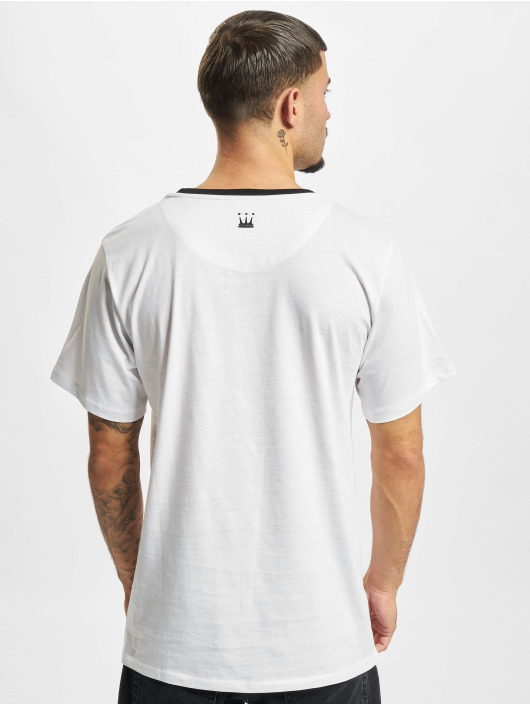 Dada Supreme T-skjorter Painted Crown hvit