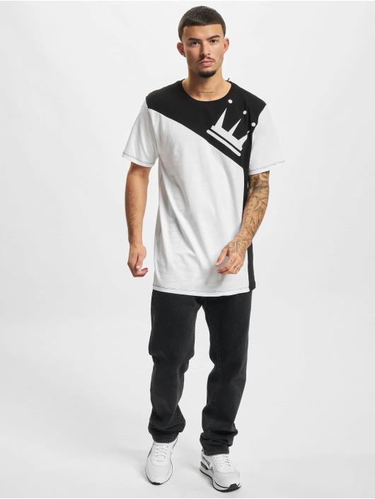Dada Supreme T-skjorter Color Blocking Crown hvit