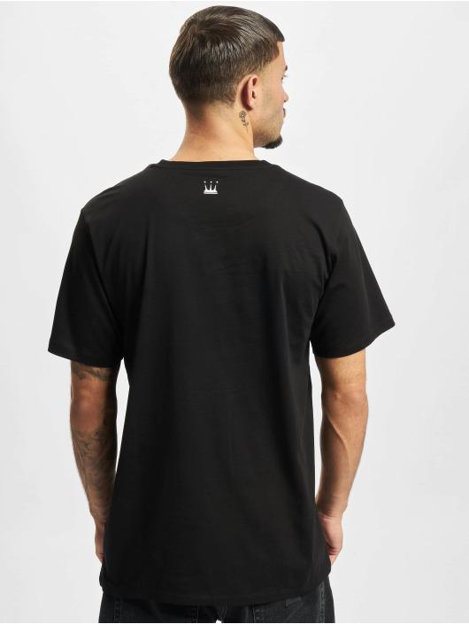 Dada Supreme T-skjorter Basic Circle Crown svart