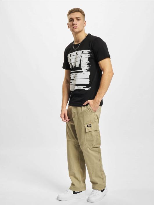 Dada Supreme T-skjorter Painted Crown svart