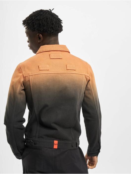 Daily Paper Denim Jacket AJEAN orange