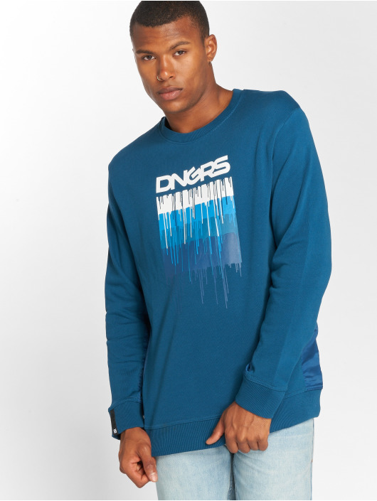 Dangerous DNGRS Пуловер DripCity синий