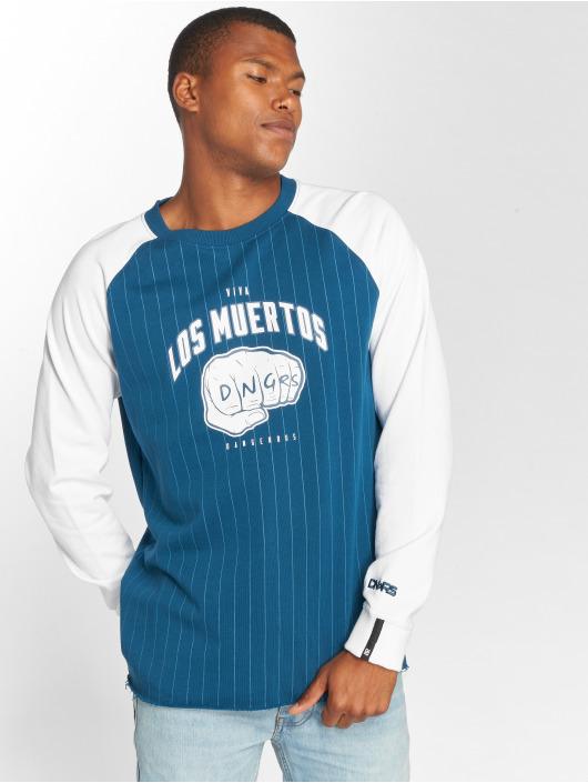 Dangerous DNGRS Пуловер LosMuertos синий