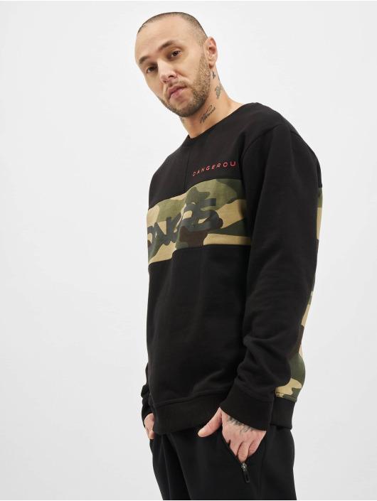 Dangerous DNGRS Пуловер Panto черный