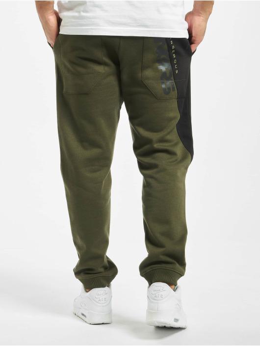 Dangerous DNGRS Спортивные брюки Pivot оливковый