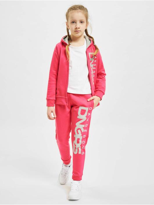 Dangerous DNGRS Anzug Classic Kids pink