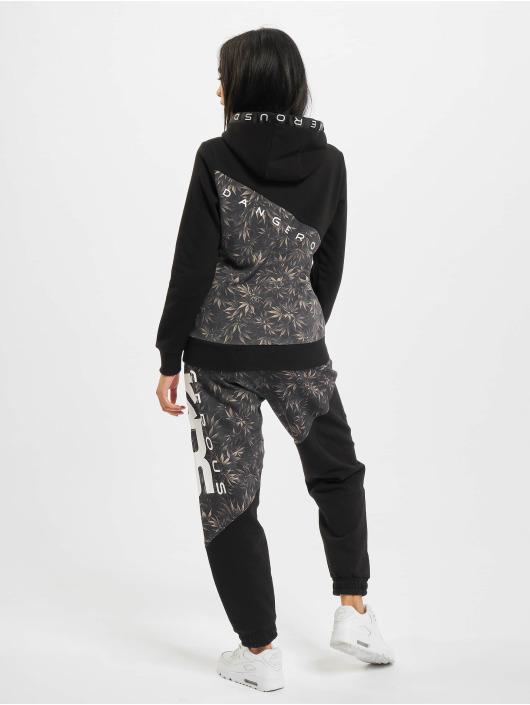 Dangerous DNGRS Anzug Blackweed Basic schwarz