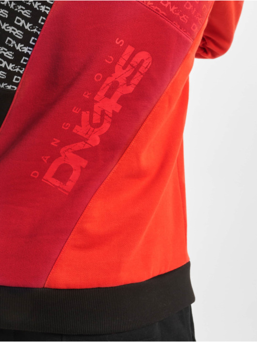 Dangerous DNGRS Bluzy z kapturem Logo czarny