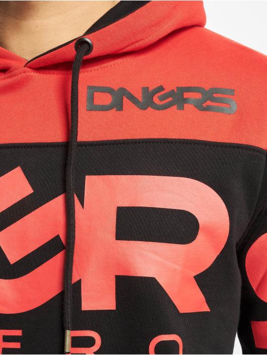 Dangerous DNGRS Bluzy z kapturem Label czarny