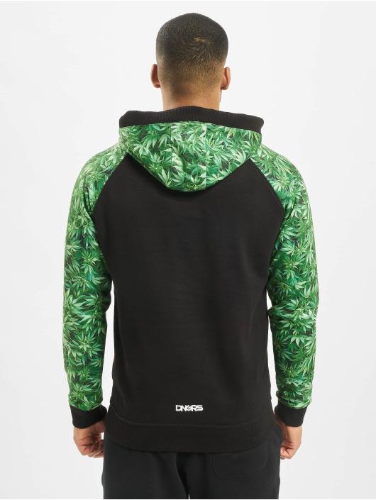 Dangerous DNGRS Bluzy z kapturem Greenline czarny