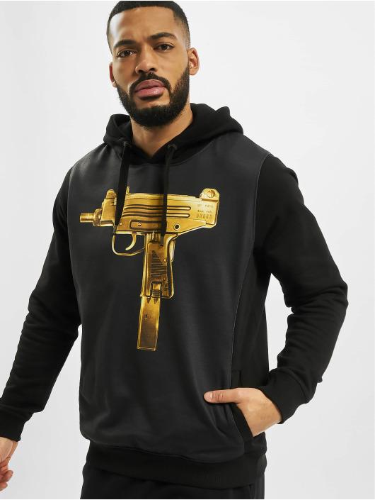 Dangerous DNGRS Bluzy z kapturem Goldgun czarny