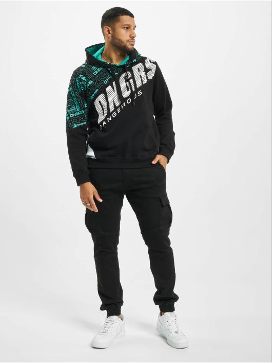 Dangerous DNGRS Bluzy z kapturem CBrick czarny