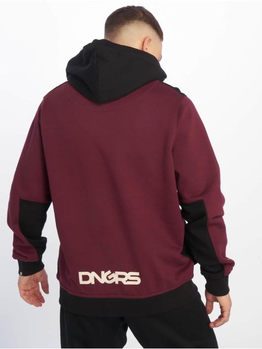 Dangerous DNGRS Bluzy z kapturem DNGRS Stunner czerwony