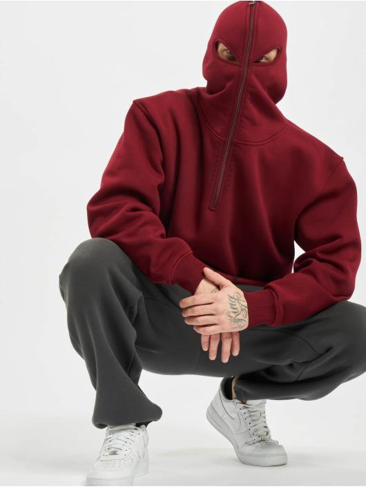 Dangerous DNGRS Bluzy z kapturem x Gomorrha czerwony