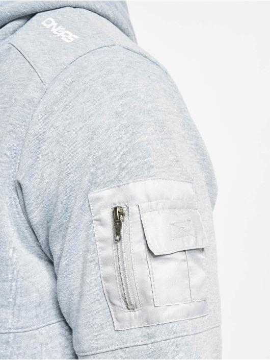 Dangerous DNGRS Bluzy z kapturem Mokoo szary