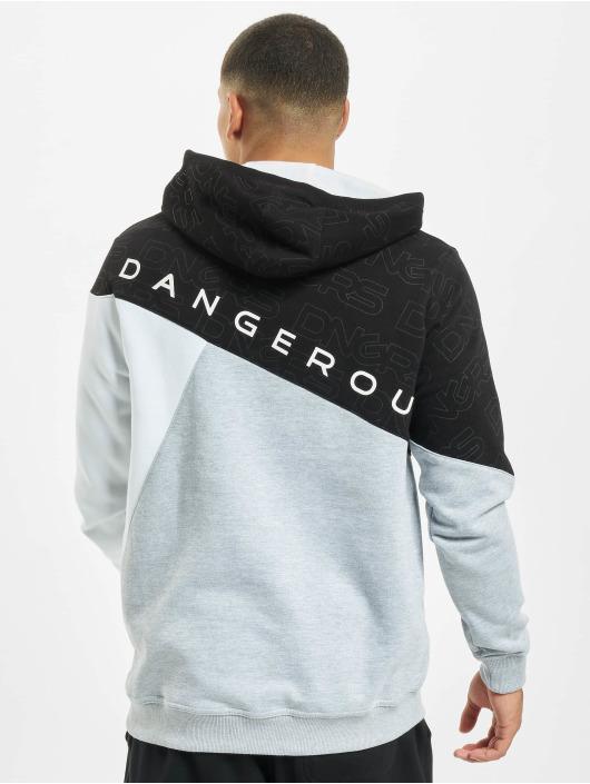 Dangerous DNGRS Bluzy z kapturem Contra szary