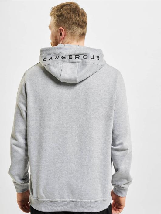 Dangerous DNGRS Bluzy z kapturem Classic szary