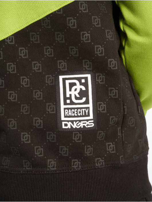 Dangerous DNGRS Bluzy z kapturem DNGRS Toco zielony