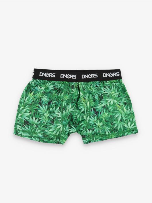 Dangerous DNGRS Bokserki Weed zielony