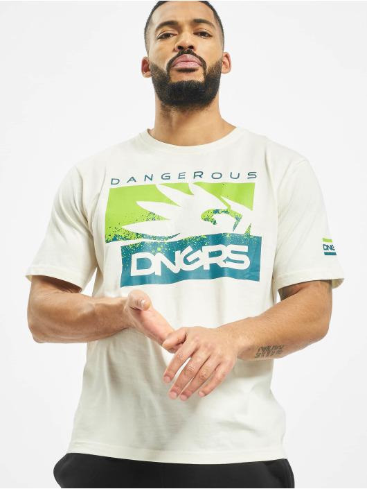 Dangerous DNGRS Camiseta Leuz blanco