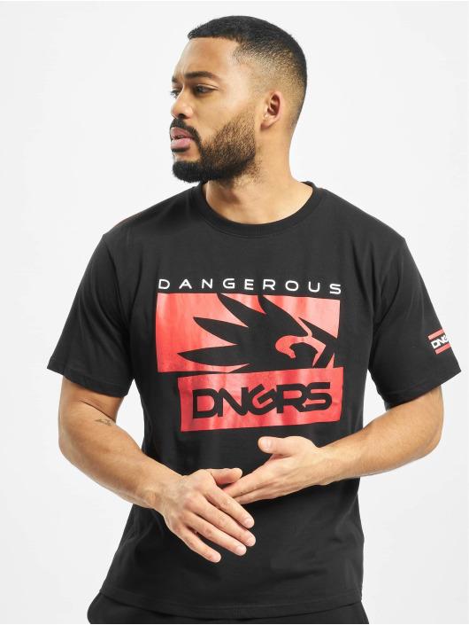 Dangerous DNGRS Camiseta Leuz negro