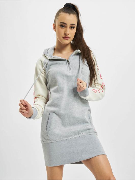 Dangerous DNGRS Dress Wintersweat gray