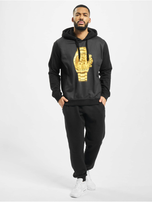 Dangerous DNGRS Hoodie Goldwatch black