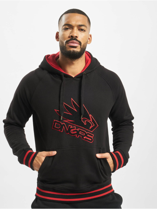 Dangerous DNGRS Hoodie Flying Eagle black