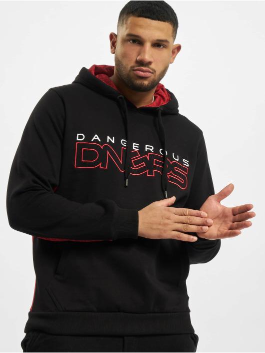 Dangerous DNGRS Hoodie Wintersweat black