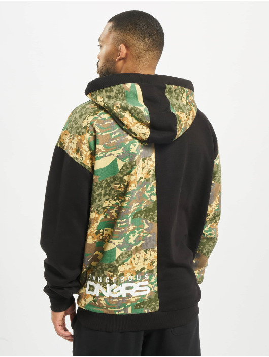 Dangerous DNGRS Hoodie Two-Face camouflage