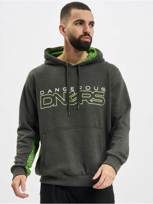 Dangerous DNGRS Hoodie Wintersweat grey