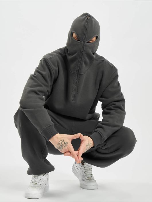 Dangerous DNGRS Hoodie x Gomorrha grey