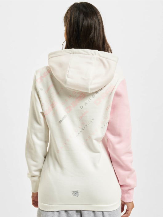 Dangerous DNGRS Hoodie Down to Earth white