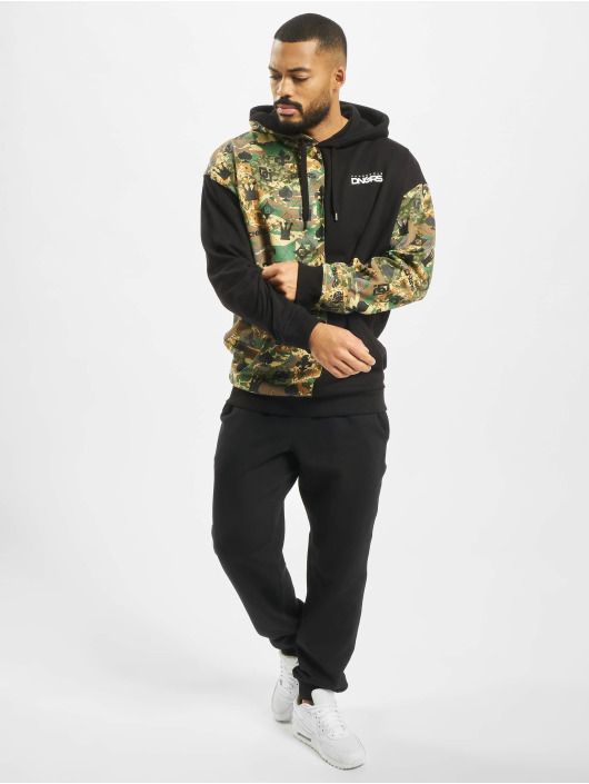 Dangerous DNGRS Hoody Half Crown & King camouflage