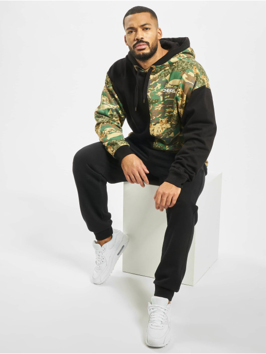 Dangerous DNGRS Hoody Two-Face camouflage