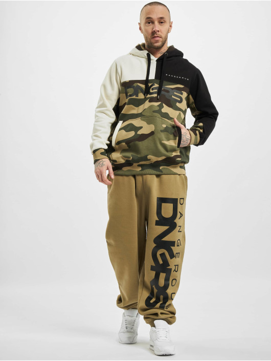 Dangerous DNGRS Hoody Panto camouflage