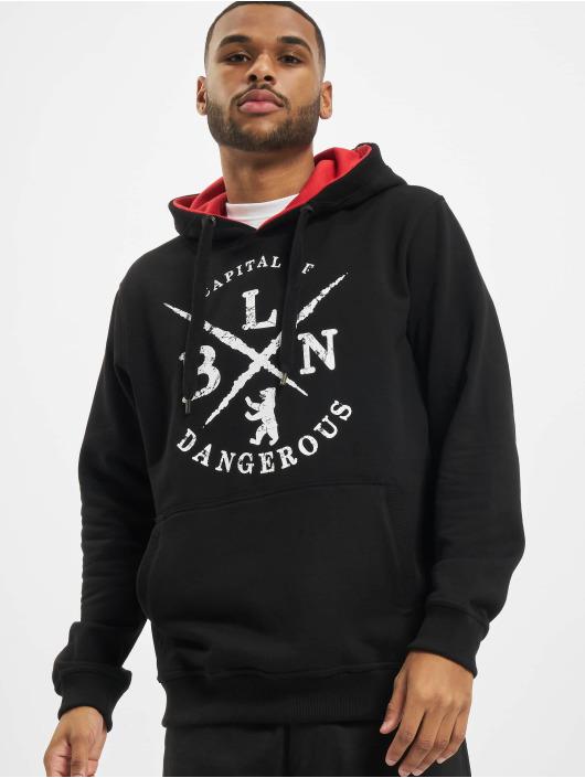 Dangerous DNGRS Hoody BLN schwarz
