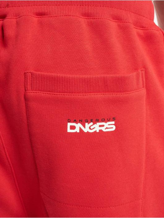Dangerous DNGRS Joggebukser Classic red