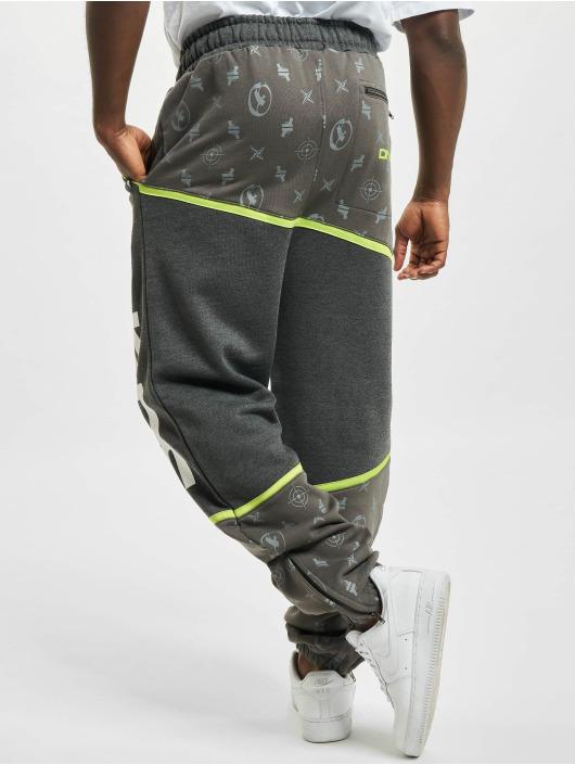 Dangerous DNGRS joggingbroek Crosshair grijs