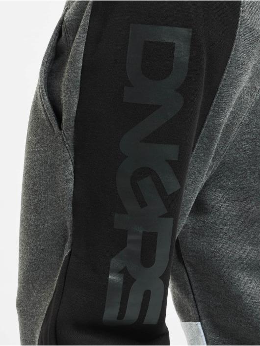 Dangerous DNGRS Jogginghose Cubix grau