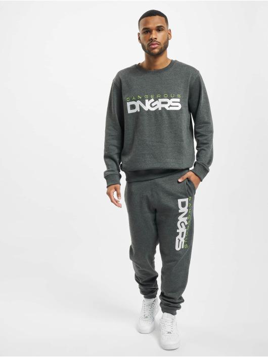 Dangerous DNGRS Jogginghose Beweare grau