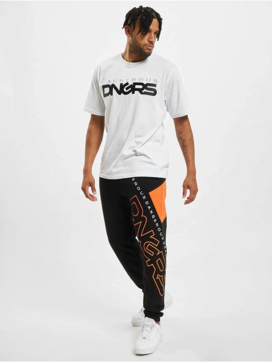 Dangerous DNGRS Jogginghose Enigman schwarz