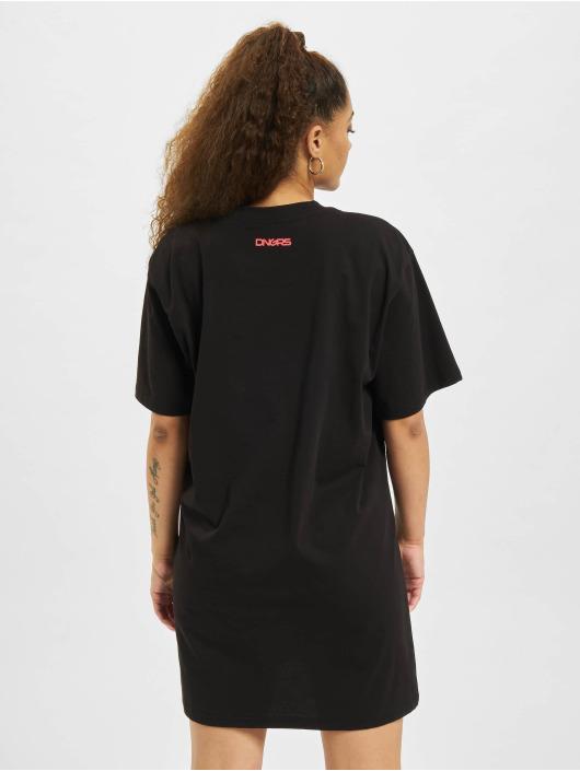 Dangerous DNGRS Kleid Signiture schwarz