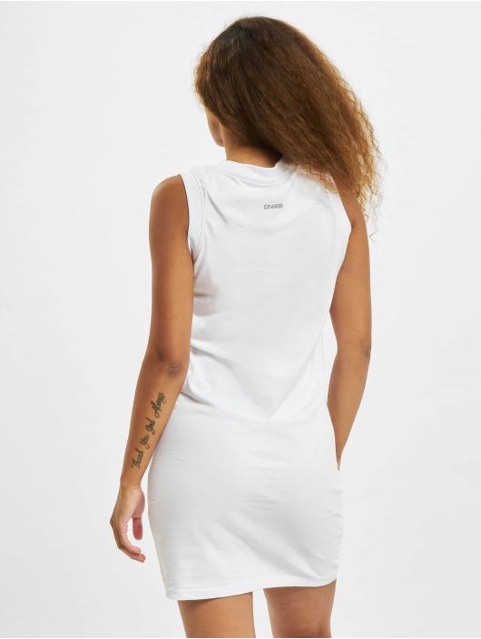 Dangerous DNGRS Kleid Signature weiß
