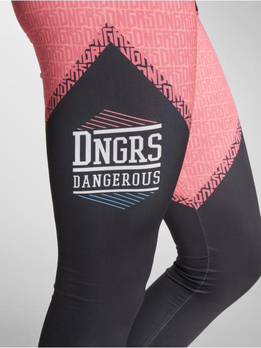Dangerous DNGRS Leggings/Treggings Tackle czarny